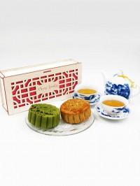 Mooncake Box Chinese Motif II